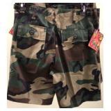 Boys Camo Shorts