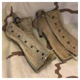1943 WWII Military Issued Gaiters