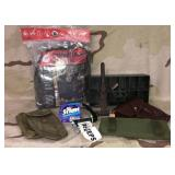 Camo Netting, Gun Holster plus extras