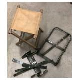 Military Stool & backpack brackets