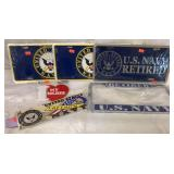 Naval Plates & Stickers