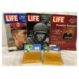 Life Magazines & Vietnam Flags