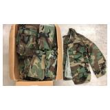 Military Issued Woodland Fatigue Jackets