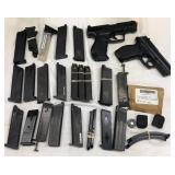 Large Lot Air Soft Guns & Cartridges