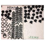 Army Chevron Pins