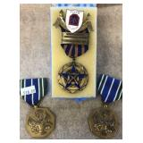 US 5th Army & Bronze Achievement Medals
