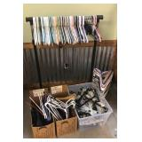 Large lot of hangers