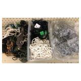Large Lot of Light Chains & Laces