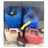 Gas Cans & Oil