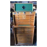 Grizzly 2 part Wooden Tool Chest