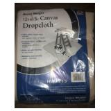 New 12x15 Canvas Dropcloth