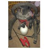 Wet/Dry Vac, hedger & sprayer