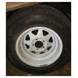 Carlisle ST 205 75R tire & rim