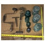 Blue Ball Jars, Insulators & Antique Tools