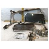 Deluxe Rear View Mirror-with Brackets