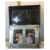 25th Wedding Anniversary Frame & Framed Mirror