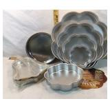 Flower Tier Cake Pan Set & Round & Bell Pans
