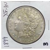 1899 XF-AU Morgan Silver Dollar
