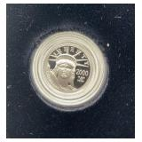 2000 U.S. Mint Tenth-Ounce Platinum Proof Coin