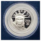 2006 U.S. Mint One-Tenth Ounce Platinum Proof Coin