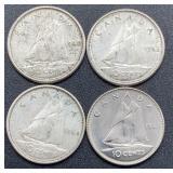 4 Canada Dimes