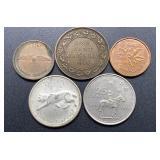 5 Canada Coins