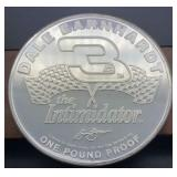 Dale Earnhardt 3 The Intimidator One Pound Proof