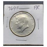 1969 S PR Kennedy Half Dollar
