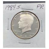 1984 S PR Kennedy Half Dollar