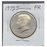 1972 S PR Kennedy Half Dollar