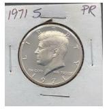 1971 S PR Kennedy Half Dollar