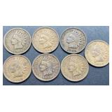 7 - 1906 Indian Head Cents