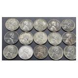 15 - 1943 Wheat Pennies