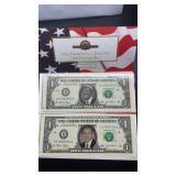 2004 Presidential Election One Dollar Bills