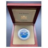 2003 Canada Rocky Mountains $20 Silver Coin