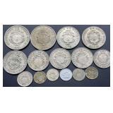 Republica De Costa Rica Coins