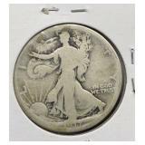 1917 D Walking Liberty Half Dollar