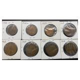8 Great Britain Coins