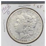 1902 O XF Morgan Silver Dollar