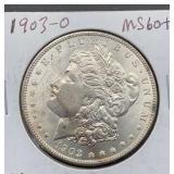 1903 O MS60 Morgan Silver Dollar