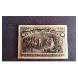 Columbus Presenting Natives 10 cent Stamp 1893