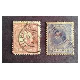 Netherlands 5 cent & 1/2 cent Stamps