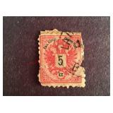 Austria Stamp, Cancelled