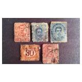 Italy Stamps QTY 5