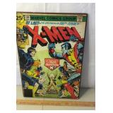 Marvel Comics Poster on Board