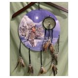 New dream catcher - Native American with wolves,