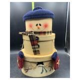 Snowman nesting boxes