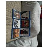 Lot of 6 assorted DVD