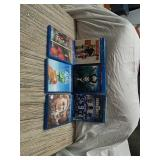 Lot of 6 DVDs
