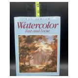 Watercolor painting book
